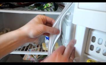 Замена уплотнителя в холодильнике Атлант